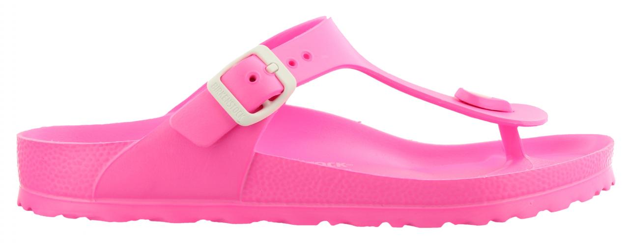 Birkenstock Gizeh Neon Pink EVA Dames slippers