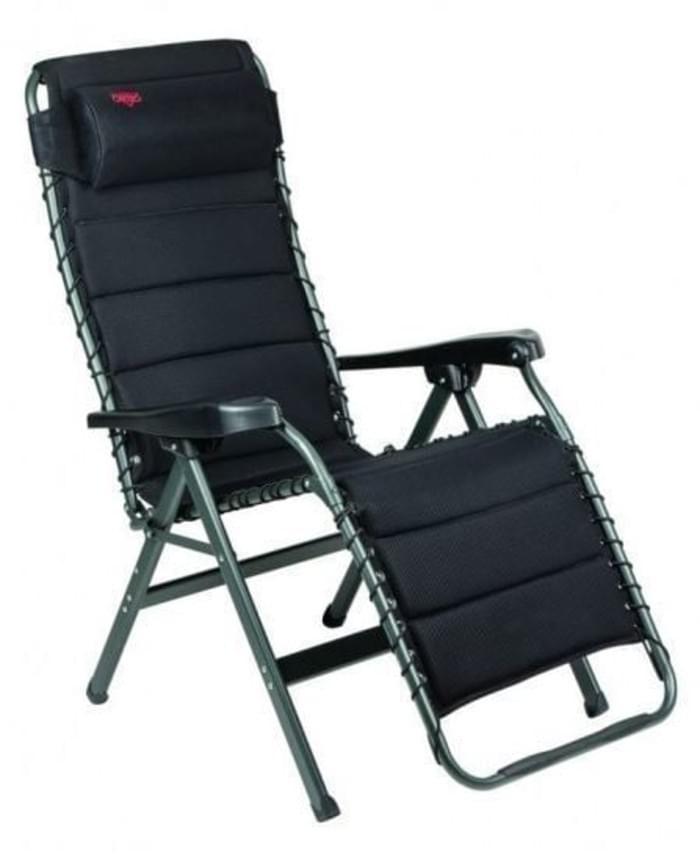 Crespo AP-232 Air Deluxe Relaxstoel Zwart