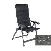 Crespo AP-237 Air-Deluxe stoel Zwart GRATIS ACTIE