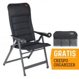 Crespo AP-237 Air-Deluxe Campingstoel - Zwart