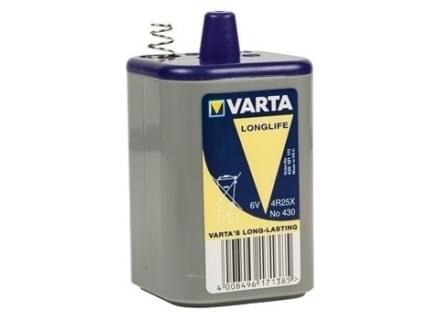 Varta Blok Batterij 6V