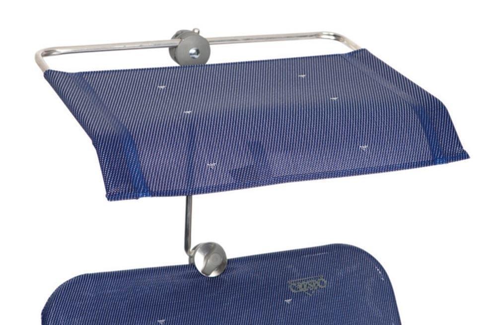 Crespo Zonnescherm blauw P-199