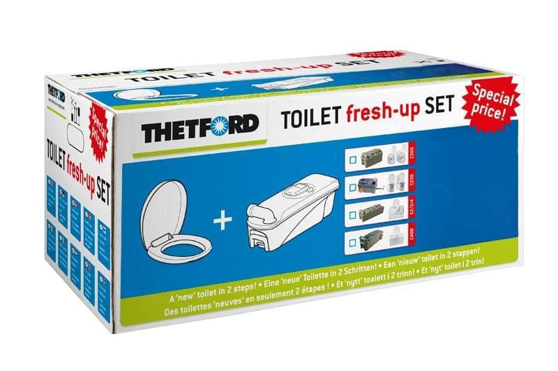 Thetford Fresh-Up Set C2-C3-C4 Met Wielen Rechts
