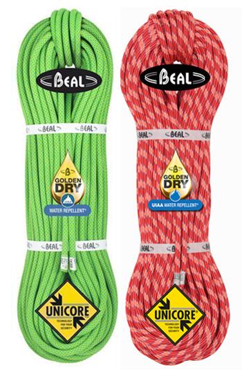 Beal Ice Line 8,1 Unicore GoldenDry Combi