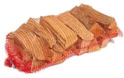 ML Vuurkorf hout pakket in net