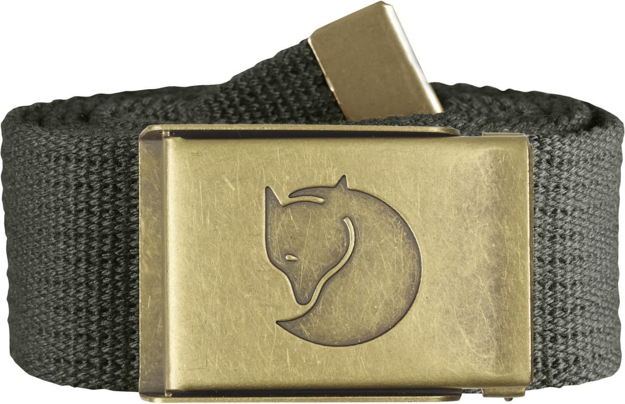 Fjallraven Canvas Brass Belt