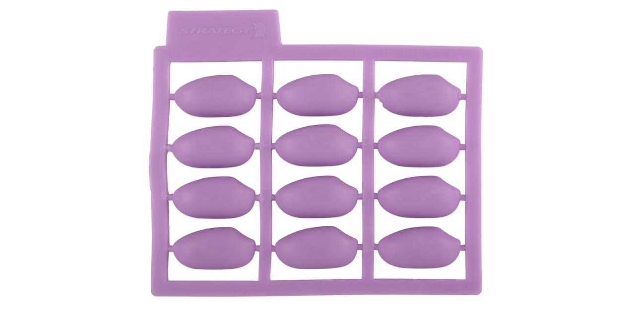 Spro Strat Pop-Up Peanuts Purple 5pack