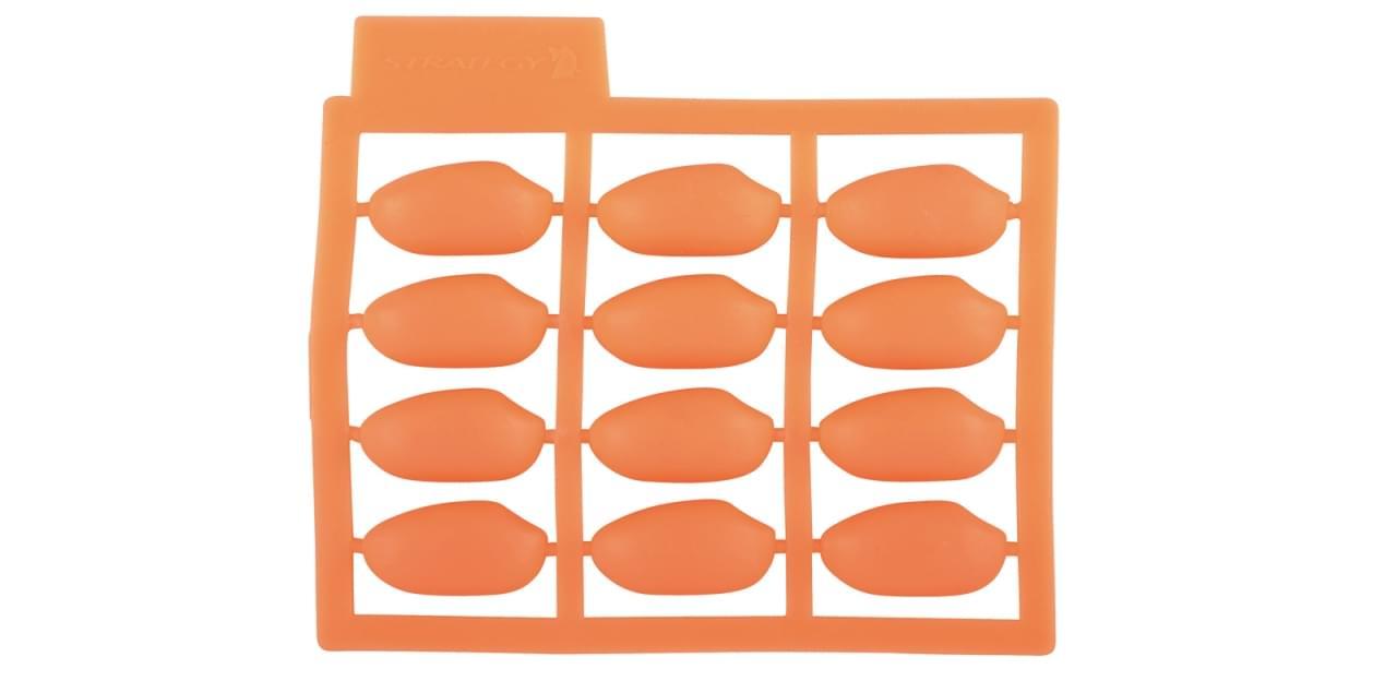 Spro Strat Pop-Up Peanuts Orange 5pack