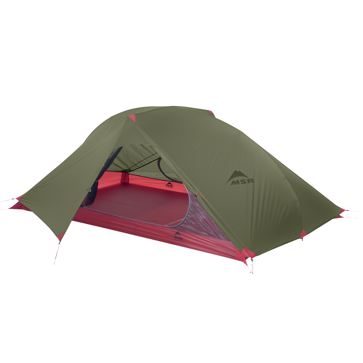 MSR Carbon Reflex 2 - 2 Persoons Tent - Groen