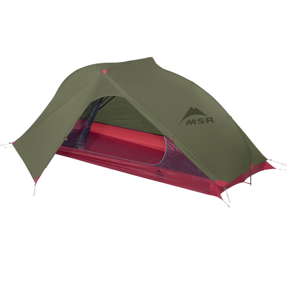 MSR Carbon Reflex 1 - 1 Persoons Tent - Groen