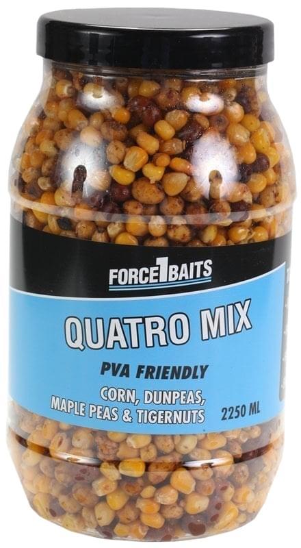 Force1Baits Bait Seeds 2250ml. quatro mix (corn