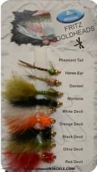 Dragon Std Fly Selection - Fritz Goldheads