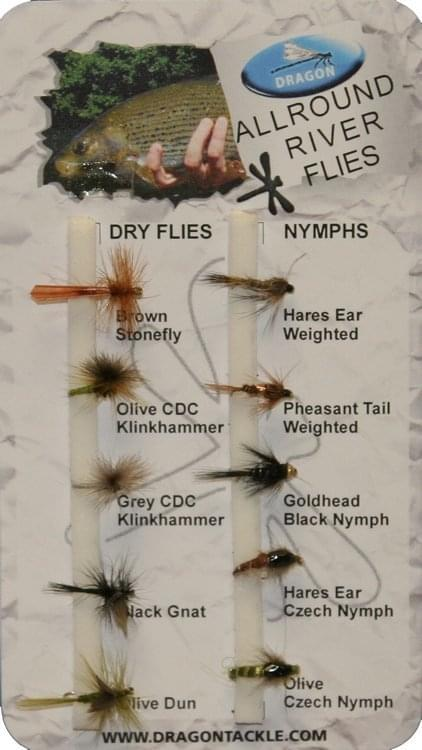 Dragon Std Fly Selection - River Flies (10