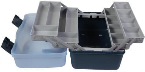 LFT Cantiliver Tackle Box 4-Tray