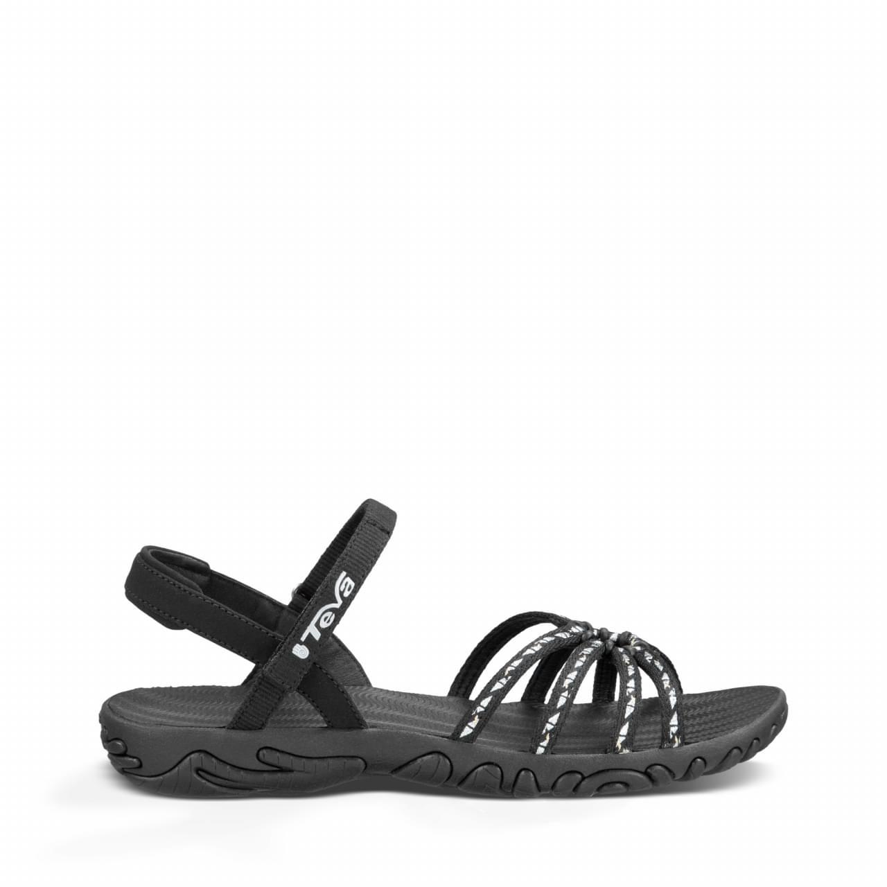 De teva kayenta is een sandaal met aan de voorzijde een aantal bandjes en achter de hiel een bandje. de ...