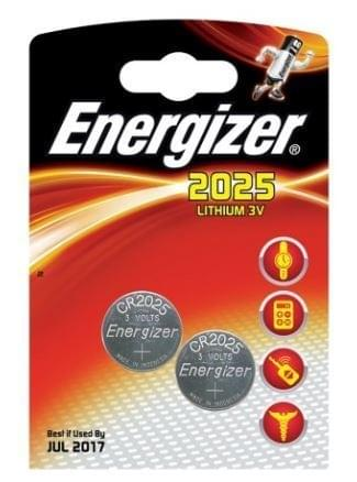 Energizer CR2025 Lithium Batterij 3V