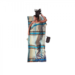 Cocoon Travelsheet Double katoen-flanel lakenzak