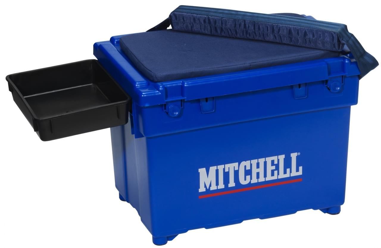 Mitchell ACC Saltwater Seat Box Blue