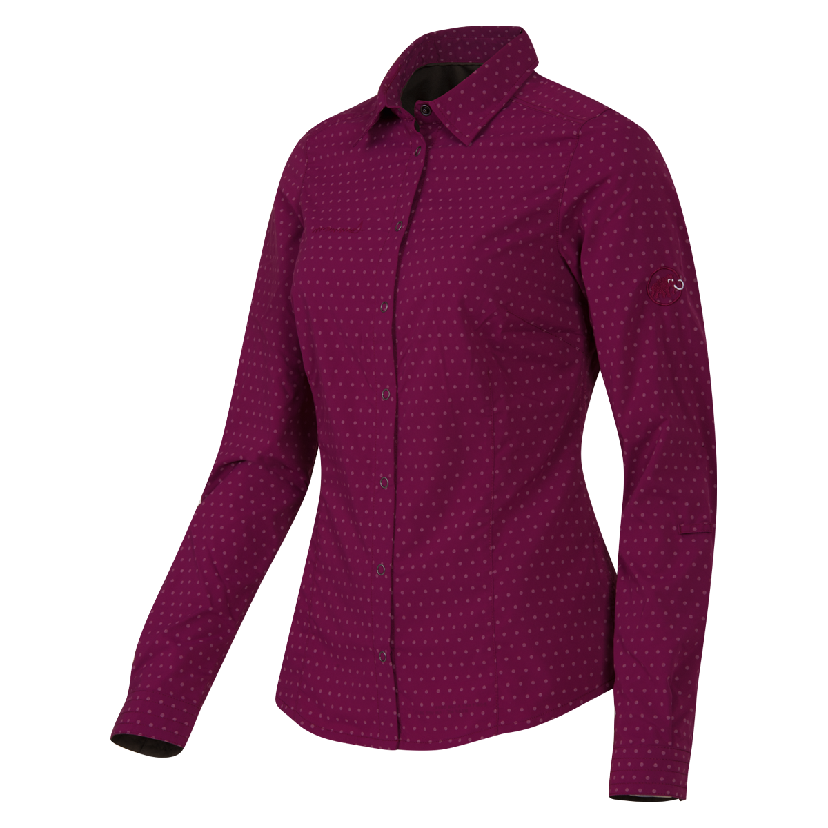 Mammut Glider Shirt Long Women amarante.S