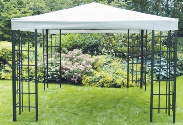 Lesli Living Paviljoen Frame Royal Partytent 3 x 3m - Grijs