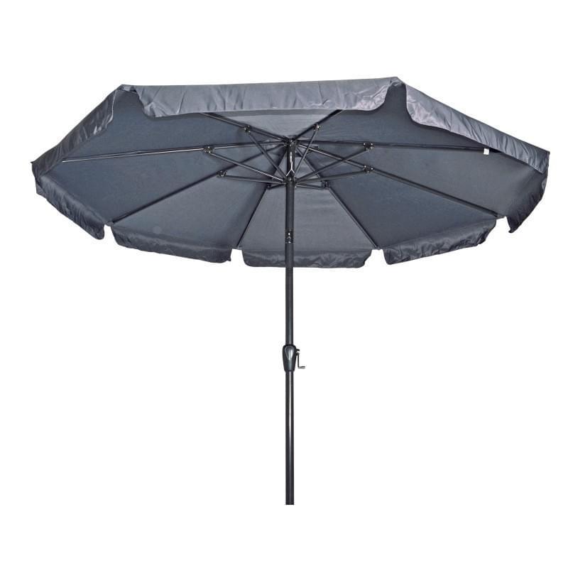 Lesli Living Parasol Libra Grijs o3,5mtr