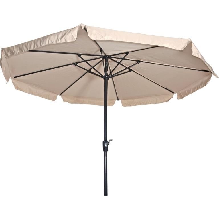 Lesli Living Parasol Libra Ecru �3,5mtr
