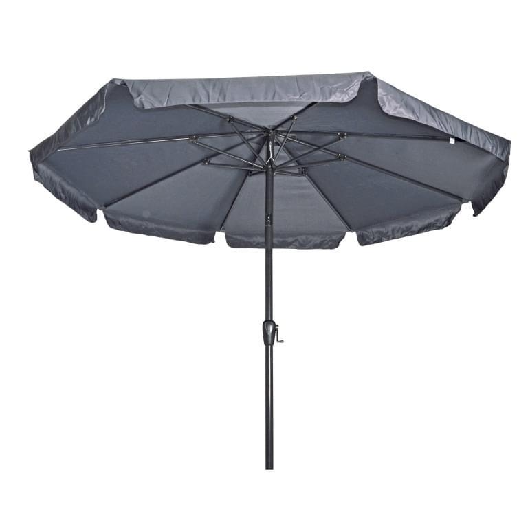 Lesli Living Parasol Libra Grijs �3mtr