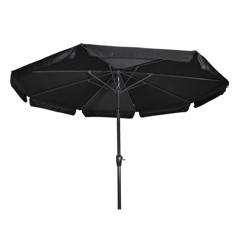 Lesli Living Parasol Libra Zwart �3mtr