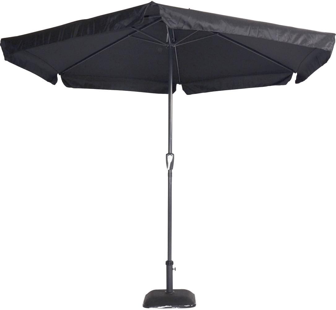 Lesli Living Parasol Gemini Zwart �3mtr
