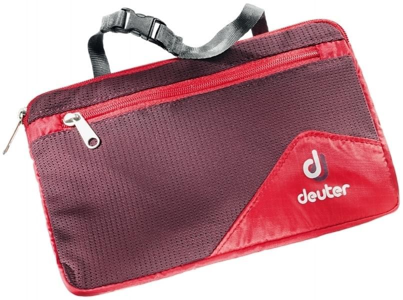 Deuter Wash Bag Lite II fire aubergine