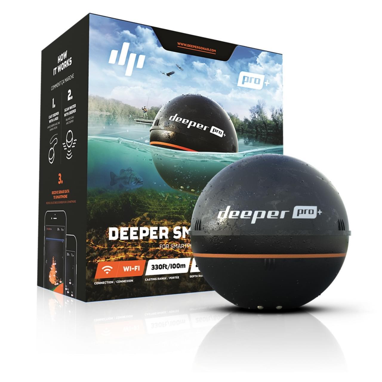 Deeper Fish Finder Pro+