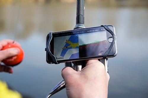 Deeper Smartphonehouder voor je hengel