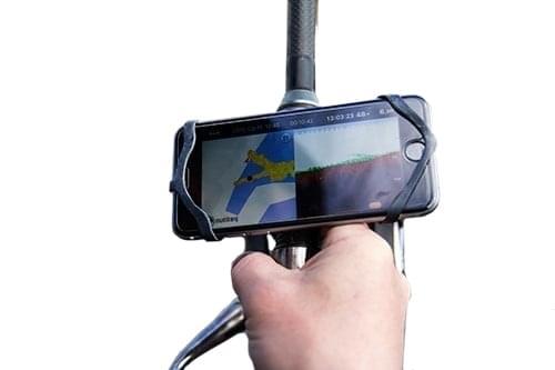 Deeper-smartphonehouder voor je hengel