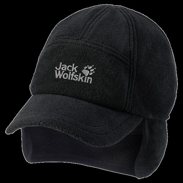Jack Wolfskin WINTER BASEBALL CAP mt. M black