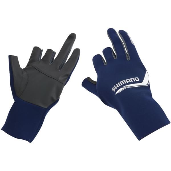 Shimano pearl fit 5 finger handschoen Blauw