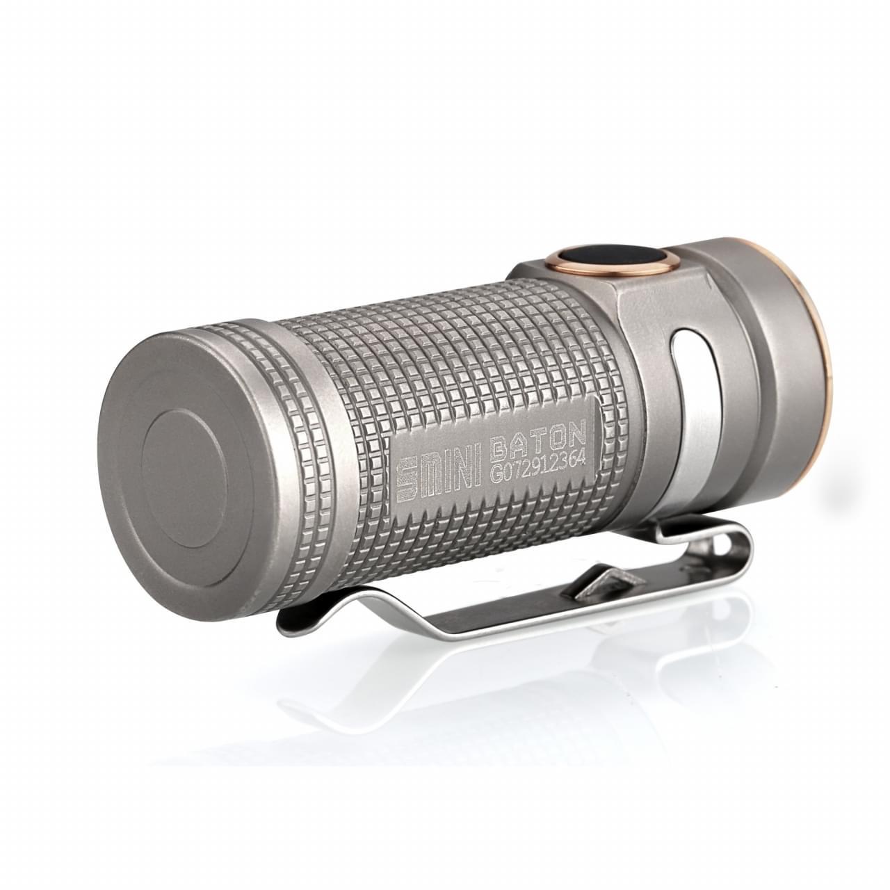 Olight SMINI Baton TI - Bead Blasted Limited edition