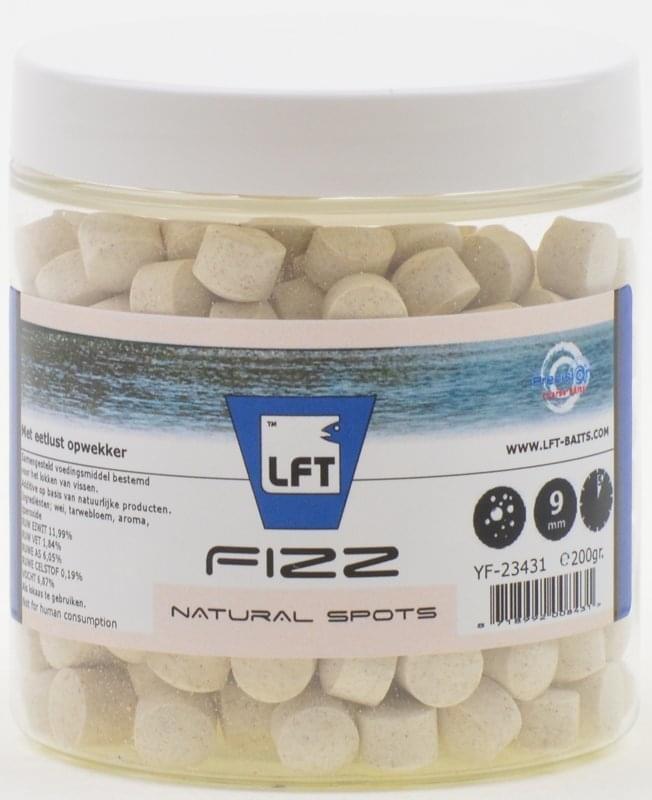 LFT Precision Fizz Natural Spots 9m