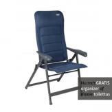 Crespo AP-237 Air-Deluxe stoel Blauw GRATIS ACTIE