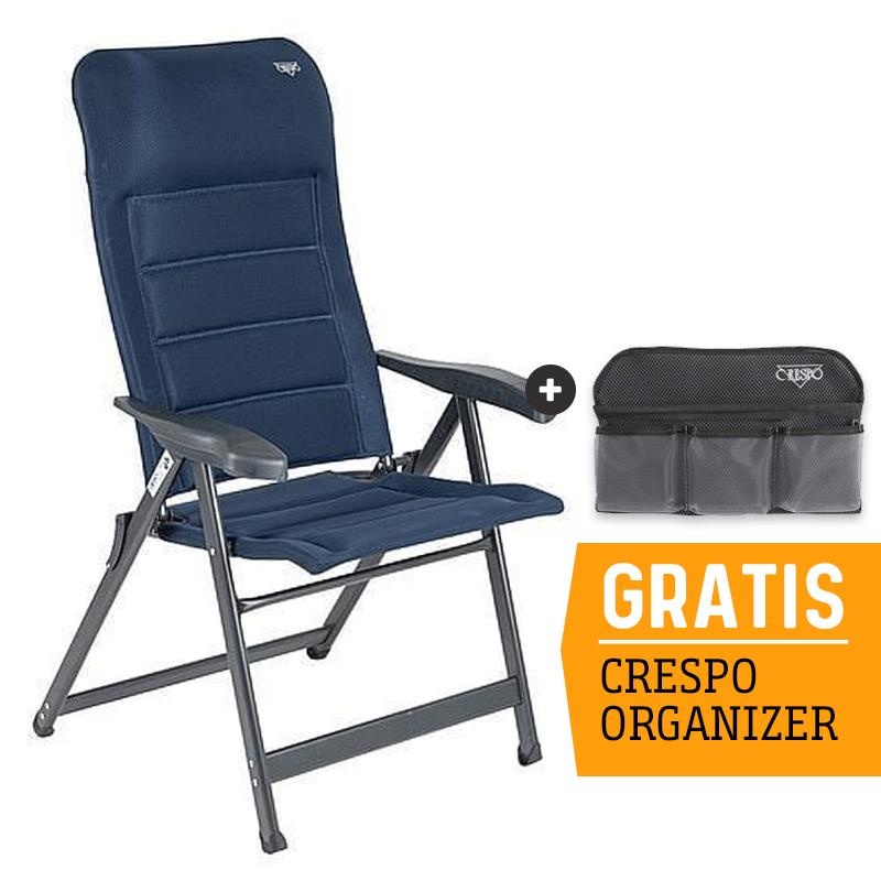 Crespo AP-237 Air-Deluxe Campingstoel - Blauw