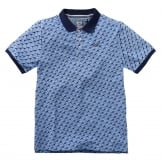 Twinlife T-Shirt Polo Regular Fit print