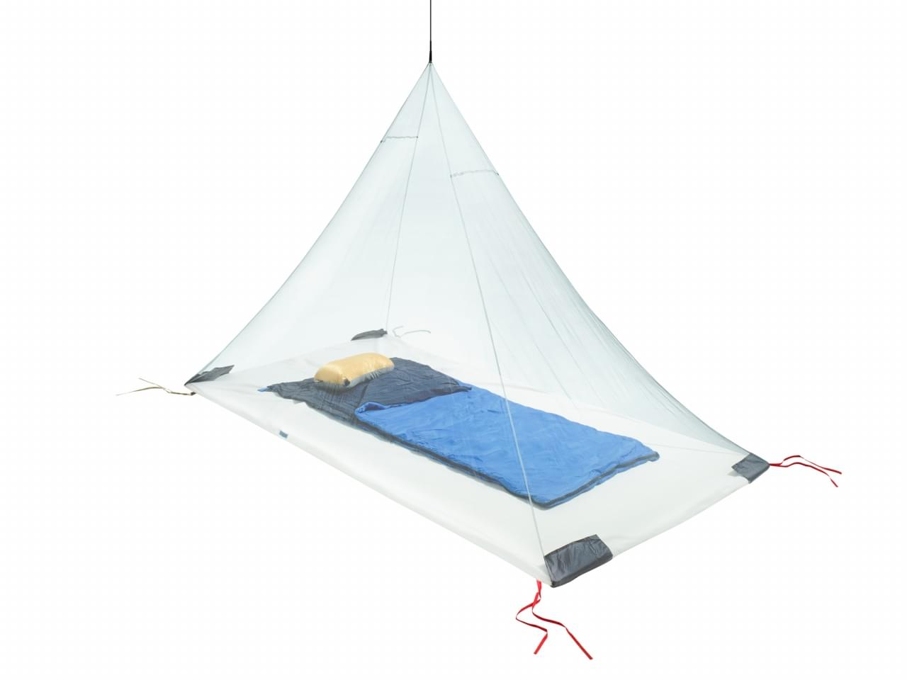 Cocoon Ultralight Mosquito Net Single - Groen