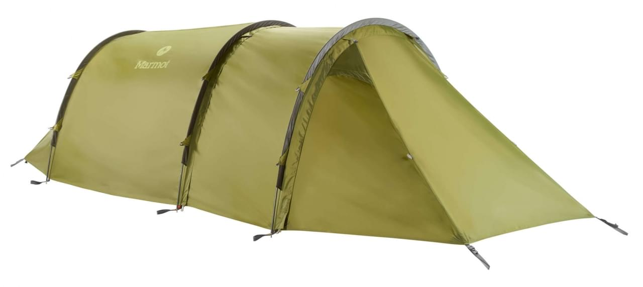 Marmot Haldor 3P - 3 Persoons Tunneltent