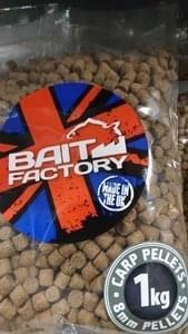 Baitfactory Carp Pellets 1kg 2mm