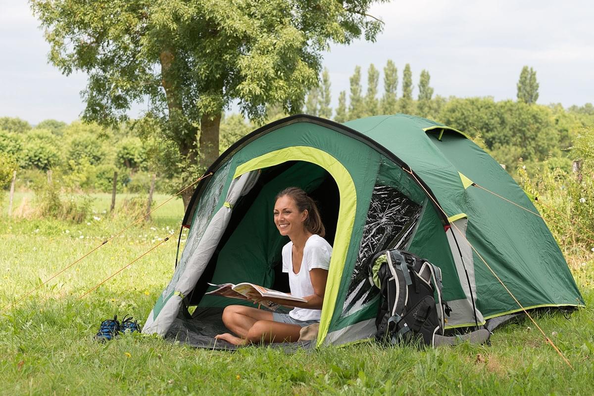Coleman Kobuk Valley 3 Plus 3 Persoons Tent Groen