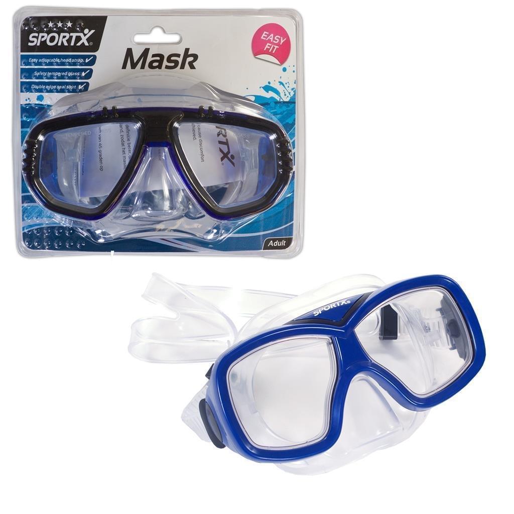 Sportx Volwassen Zwemmasker Comfort