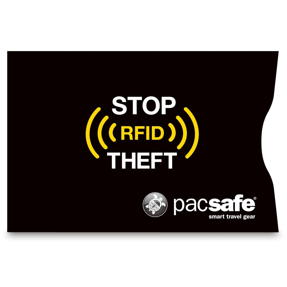 Pacsafe RFIDsleeve 25 Black RFID blocking c