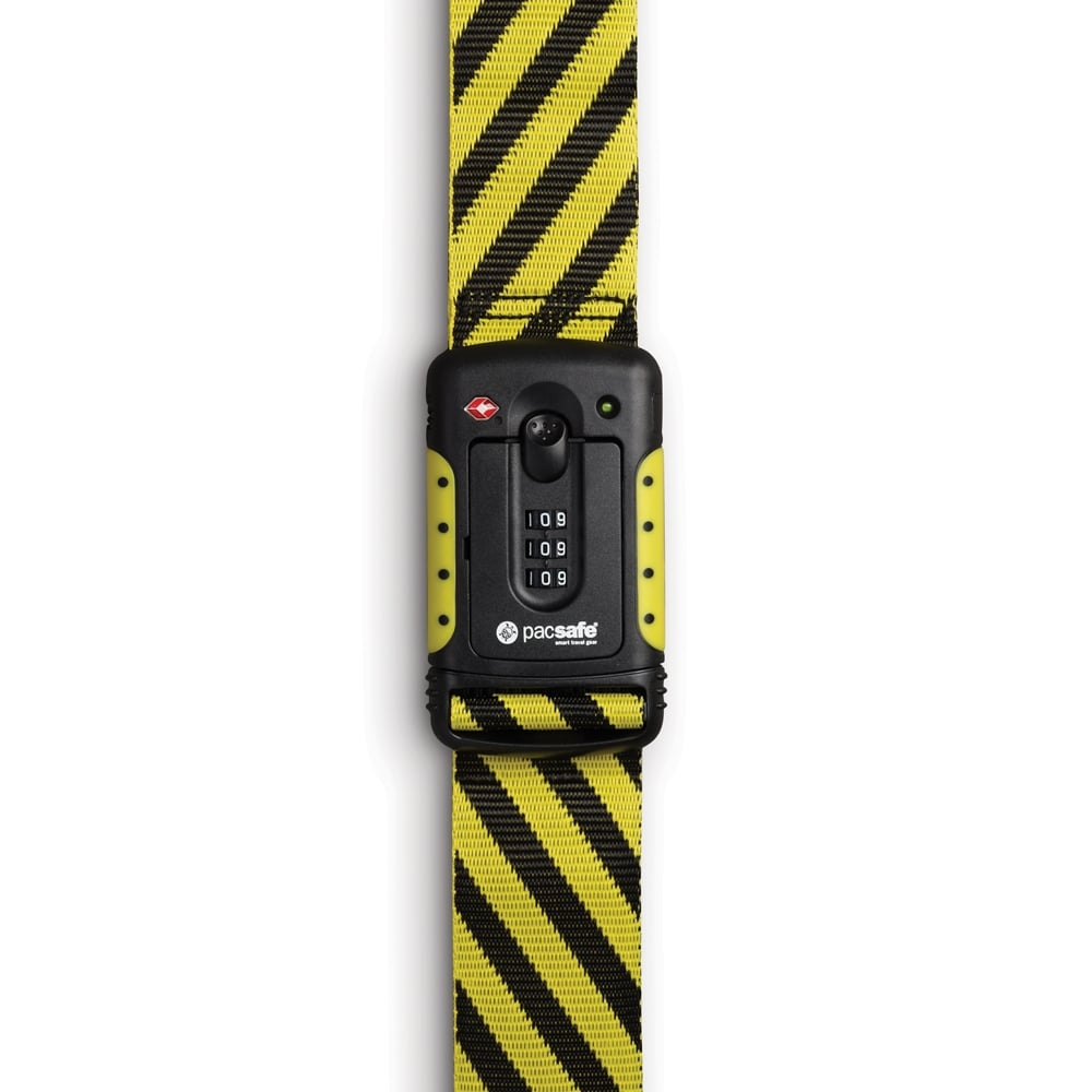 Pacsafe Strapsafe 100 Yellow-Black TSA