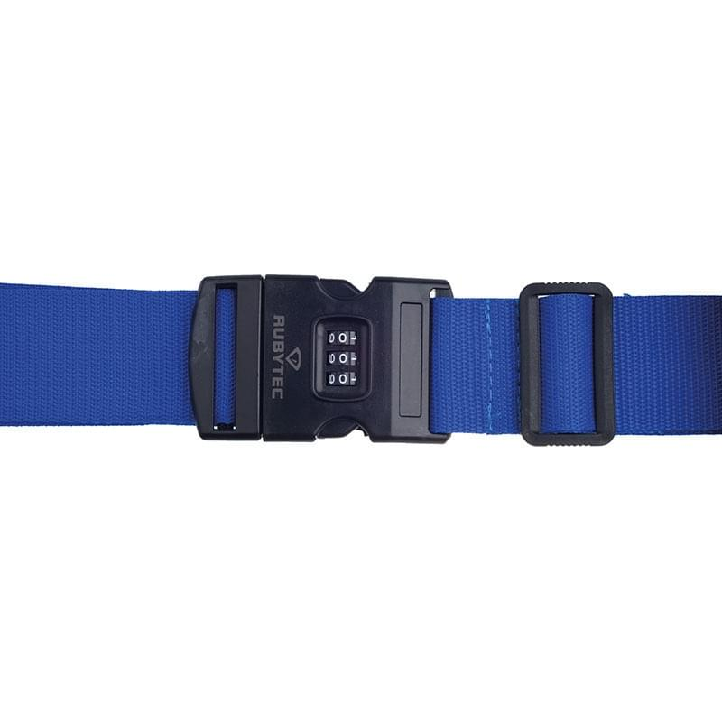 Rubytec Migrator 3 Dial Luggage Strap Blue