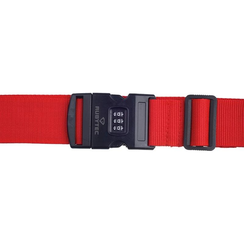 Rubytec Migrator 3 Dial Luggage Strap Red