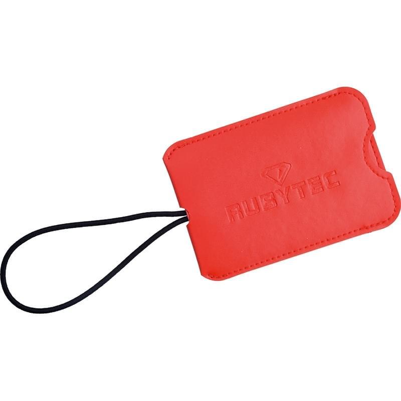 Rubytec Migrator Luggage Tag Red